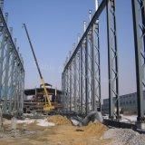 De pre-gebouwde Lichte Workshop van de Structuur van het Staal met de Kraan van de Haak Overheaded