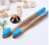 Toothbrush di bambù del carbone di legna ambientale biodegradabile 100% approvato dalla FDA (BC-T1020)
