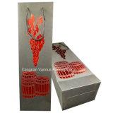 Sacco di carta personalizzato del regalo del vino/sacchetto impaccante del vino (BG5022)
