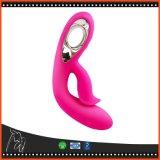 Brinquedos mais fortes do sexo da vibração para brinquedos eróticos do sexo da varinha mágica do vibrador do coelho do USB avoirdupois da mulher