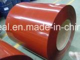 PPGI a enduit les bobines d'une première couche de peinture en acier pour la toiture en métal