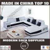 Горячие сбывания самонаводят софа 2204 мебели верхняя кожаный