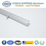 Perfil de aluminio de aluminio modificado para requisitos particulares para el tubo del LED