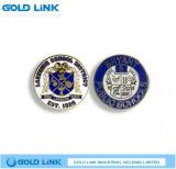 Recuerdo de encargo del Pin de la solapa del metal del emblema de la divisa de escuela del metal