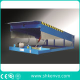 Nivelador de muelle hidráulico eléctrico fijo inmóvil de 8 toneladas para las bahías de cargamento