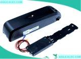36V 14.5ah schwarzes Hailong Gefäß-elektrische Fahrrad-Batterie mit Aufladeeinheit
