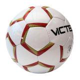 Balón de fútbol al por mayor Wearproof cosido mano de la PU