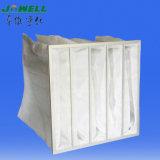 Filtro a sacco sintetico saltato fusione F5/Merv9