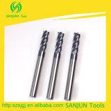 In het groot Carbide 4 Molen 45 van het Eind van de Fluit Vierkante de Toebehoren van de Werktuigmachine van de Draaibank HRC