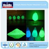 Lueur verte fiable sûre de colorant dans l'enduit foncé de poudre