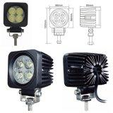 12W para la lámpara campo a través de la luz del trabajo del automóvil LED del carro del coche del vehículo