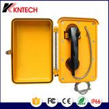 Telefon des Hochleistungstelefon-industrielles wasserdichtes Telefon-Knsp-03 PAS