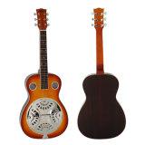 Guitarra quadrada do ressonador do Dobro de Aiersi da garganta