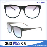Gute Qualitätsform PC Rahmen-Metallbügel-Sonnenbrillen