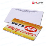 Tarjeta de la identificación de la impresión RFID de la insignia de la gerencia de la calidad de miembro
