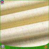 ホーム織物の防水炎-抑制停電によって編まれるポリエステルリネンファブリック窓カーテンファブリック
