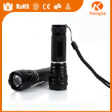 Fertigung AAA-Batterie-QuellZoomable 3 Modus-Taschenlampen-Großverkauf