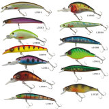Pr-L3513 passte sich hin- und herbewegenden harte Minnow-Plastikfischen-Köder an