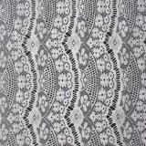 Новая конструкция Ruffled ткань шнурка ресницы платья сетки роскошная