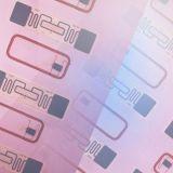Plastik-RFID Karte Belüftung-Einlegearbeit-Blatt für FM1108 Mf kompatible Chipkarte