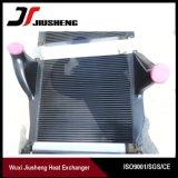 Refroidisseur intermédiaire en aluminium bien projeté de camion d'ailette de plaque