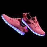 Самый новый ботинок СИД проблескивая освещает вверх ботинки танцульки для партии