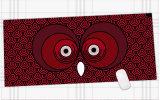 مطّاطة سرعة لعبة قمار [مووس بد] فأرة حصيرة حجم كبيرة [9004003مّ]
