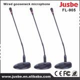 Jusbe FL-905 48V/6V Pantonの電源のコンデンサーワイヤーGooseneckの会議のマイクロフォン