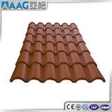 Estante de azotea de aluminio rojo/canal de aluminio/sistema de aluminio de la azotea del braguero