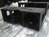 A linha disposição de V25 Jbl Dual áudio do sistema de som de 15 polegadas PRO
