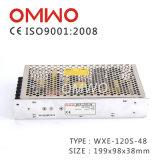 Wxe-120s-48는 DC 엇바꾸기 전력 공급에 산출 120W 48V AC를 골라낸다