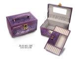Caja de Cuero Elegante de la Joyería/empaquetado de la Joyería