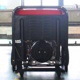 バイソン((h) 6kw 6kVA中国) BS7500dceのセリウムは1年の保証小さいMOQのディーゼル発電機の溶接機を証明した