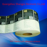 Etiqueta engomada al por mayor del retículo de la etiqueta adhesiva de la impresión del PVC de la alta calidad