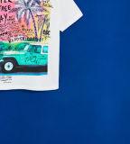 Camisa impressa fotografia de T do menino da fábrica