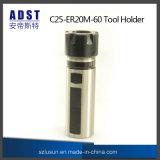 CNC C25-Er20m-60 공구 홀더 CNC 기계 똑바른 정강이 물림쇠