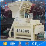 Qualität Conpulsory doppelter Betonmischer-Maschinen-Preis der Welle-Js1000 in Indien