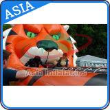 Unterhaltungs-aufblasbare Tiger-Federelement-Läufer-Spiele für Partei
