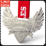 おかしい3Dダイヤモンドの形のカスタム金属メダル