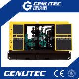 звукоизоляционный тепловозный комплект генератора 40kw/50kVA приведенный в действие Cummins