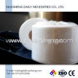 Gant de toilette remplaçable, chiffon de solvant de renivellement, essuie-main de roulis avec le tissu non-tissé