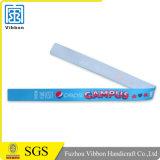 Конструкция Wristband промотирования сатинировки ваш собственный логос
