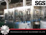 Máquina giratória da bebida do suco com lavagem e enchimento