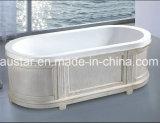 1700mm de Moderne Badkuip van de Ellips (bij-LW019M)