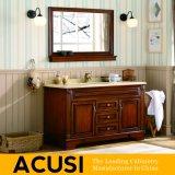 Neue erstklassige Qualitäts-amerikanische einfache Art-festes Holz-Badezimmer-Eitelkeits-Badezimmer-Schrank-Badezimmer-Möbel (ACS1-W36)