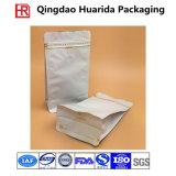 O reforço lateral personaliza o saco de empacotamento do Zipper do café