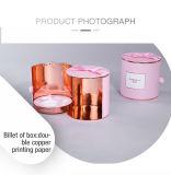 甘い機能円柱ピンクのボール紙のギフトの記憶のケース