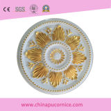 Médaillon de plafond décoratif PU pour décor intérieur