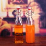 de Hete Flessen van het Glas van het Vruchtesap van de Verkoop 350ml 500ml Voor het Drinken van de Drank