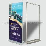 전람 포스터 걸이 알루미늄 수직 진열대 광고
